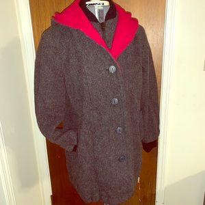 Vtg 1960s wool peacoat